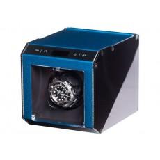"""Uhrenbeweger """"Ferrum Cube"""" 1 Uhr Blau"""