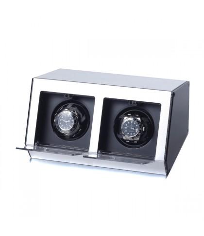 Uhrenbeweger Argentum 2 Uhren Silber
