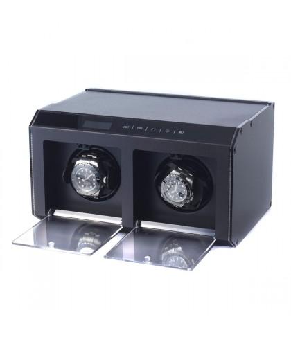 Uhrenbeweger Palladium 2 Uhren Schwarz