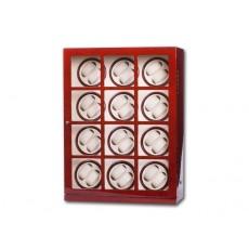 Uhrenbeweger Collector 24 Uhren Wurzelholz / Beige